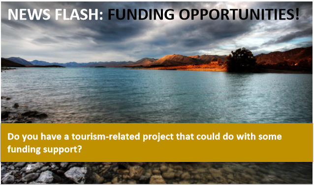Tourism Funding Opportunities