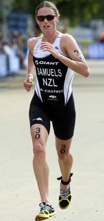 Nicky Samuels takes World Aquathon Title