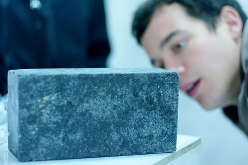 Eco-BLAC ash brick recycles industrial waste