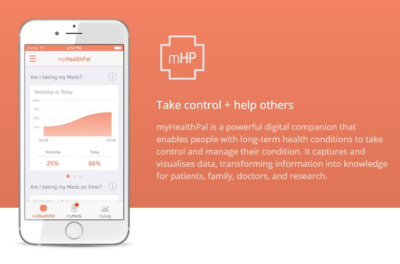 User focused health tracker enables donation of data to research
