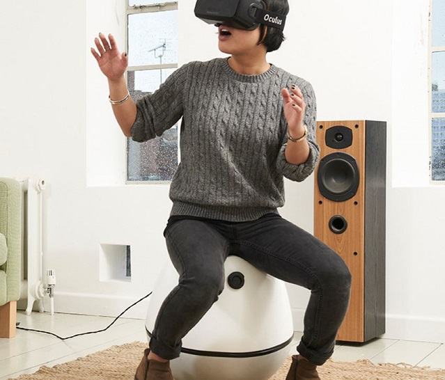 Hands Free Virtual Reality Motion Controller