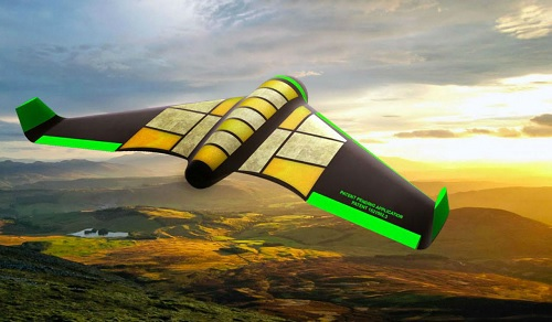 No waste, edible emergency drone carries more food