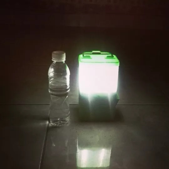 Do Salt Lamps Work With Led : SALt - Lamp Powered By Salt Water - Business innovation blog