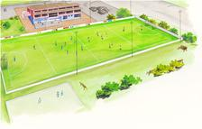 Nelson Hockey Turf Concept Drawing